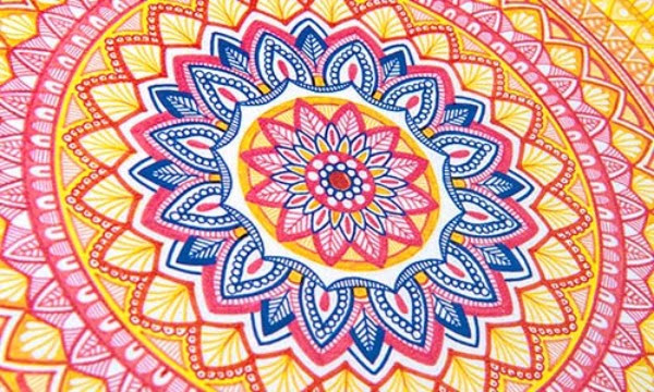 Family Workshop: Make Your Own Mandala
