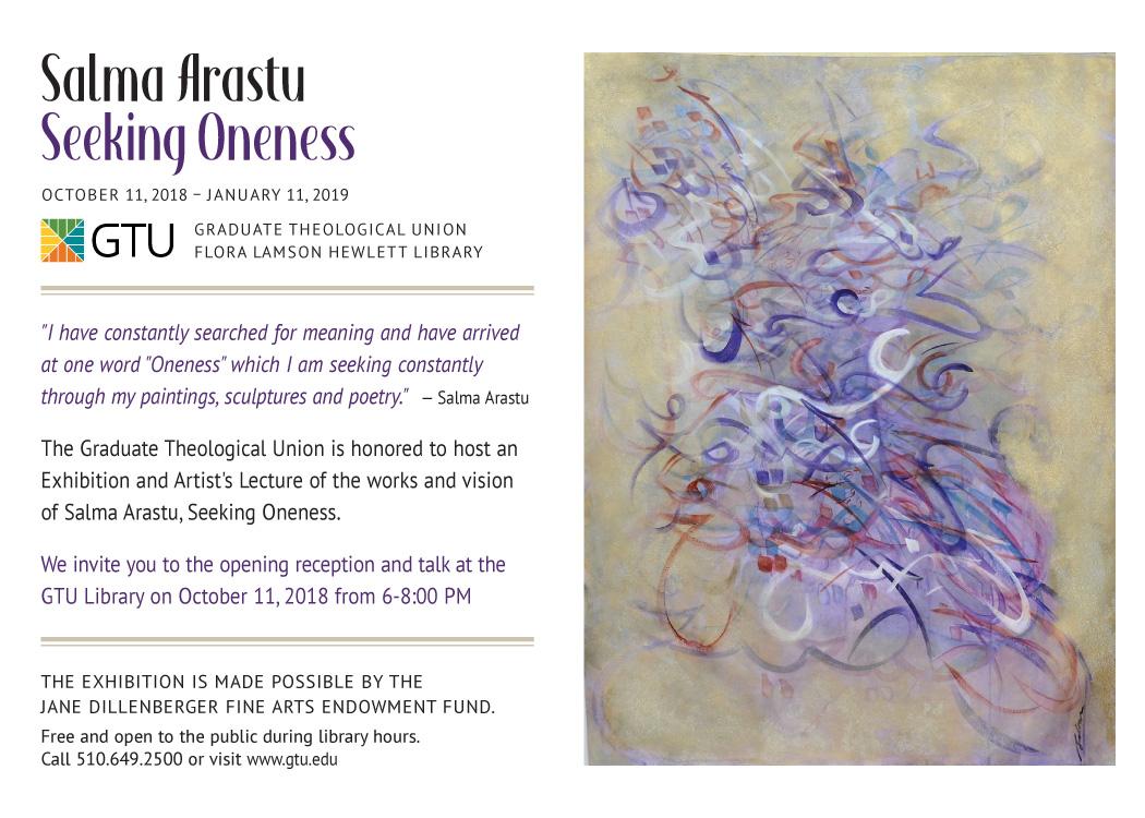 Salma Arastu: Seeking Oneness